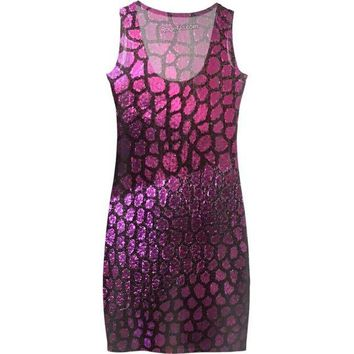 DCCKFP2 Purple Scales Dress