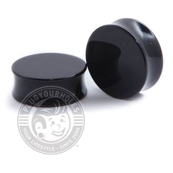 Black Acrylic Plugs