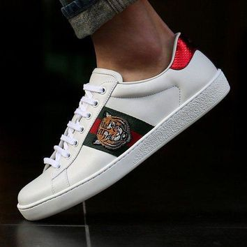 Gucci Trending Fashion Casual Sports Shoes Women Men Classic Tiger Shoes B