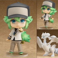 "Original box Nendoroid 537 Pokemon Action Figures 4"" 10CM Pokemon N Reshiram Toys PVC Model Collection"
