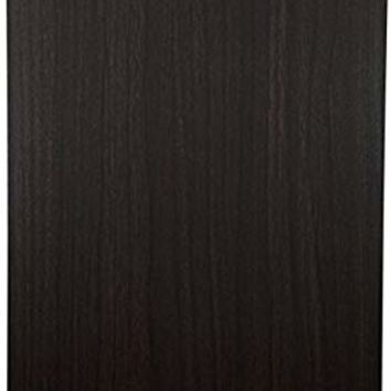 Clipboard Dark Grain Fiberboard With Vinyl Surface (1-Pack)