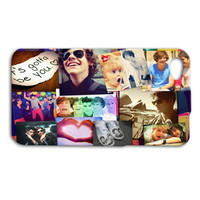 One Direction Phone Case Cute Collage Band iPhone Cover 1 Direction iPod Case iPhone 4 iPhone 5 iPhone 4s iPhone 5s iPod 4 Case iPod 5 Case