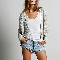 Free People Womens High Low Cardigan