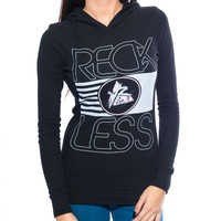Young and Reckless FLAG STACK THERMAL HOODIE