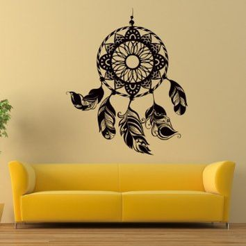 Dreamcatcher Dream Catcher Wall Vinyl Decal Sticker Wall Decor Home Interior Design Art Mural Z398