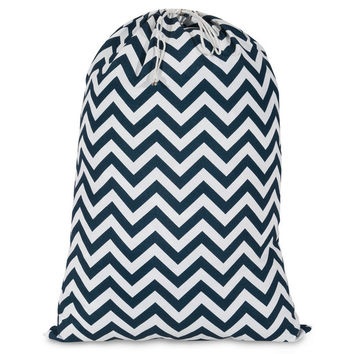Chevron Laundry Bag