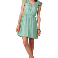 Vienna Swiss Dot Dress                       - Francescas