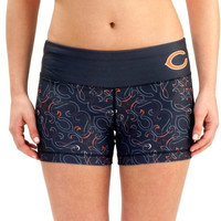 Chicago Bears Women's Thematic Print Shorts – Navy Blue