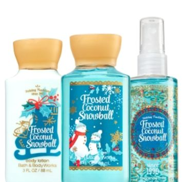 Travel Size Daily Trio Frosted Coconut Snowball