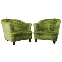 A Pair of Armchairs by Andrea Burisi Vici ca.1938