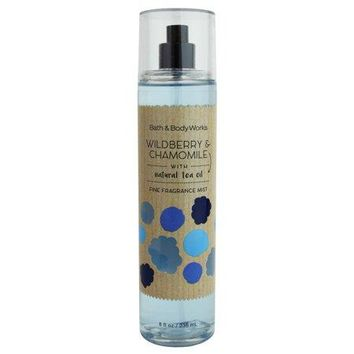 Bath & Body Works WILDBERRY & CHAMOMILE Fragrance Mist