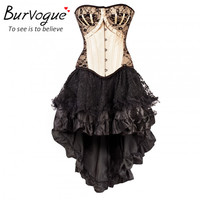 Vintage Gothic Corset  Dress