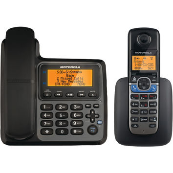Motorola Dect 6.0 Corded And Cordless 2-handset Phone System With Bluetooth Link