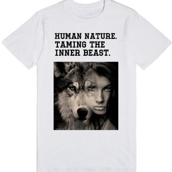human nature trendy top