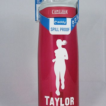 Personalized .75L Camelbak Bottle - Female Runner