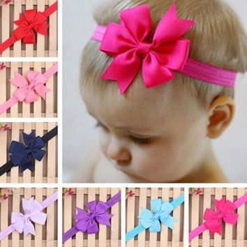 PEAP78W 20 Colors Headband Hair Band Bowknot Headwear Accessories