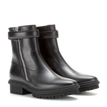 balenciaga - leather boots