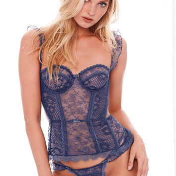 Crochet & Lace Bustier - The Victoria's Secret Designer Collection - Victoria's Secret