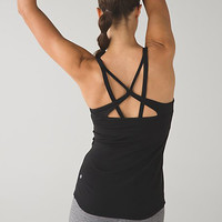 Lululemon Fashion Crisscross Gym Yoga Sport Vest Tank Top Cami