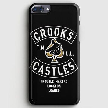 Crooks Castles Air Gun Spades iPhone 8 Plus Case | casescraft