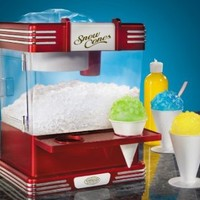 Nostalgia Electrics RSM-602 Retro Series Snow Cone Machine