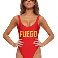 Private Party Fuego swimsuit