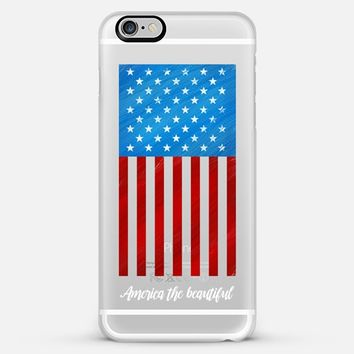 America the Beautiful iPhone 6 Plus case by Noonday Design   Casetify
