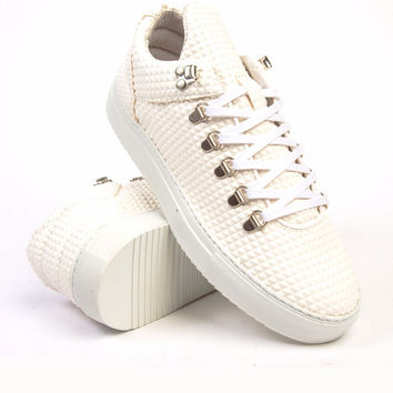 Filling Pieces Mountain Cut Pyramid White Sneaker