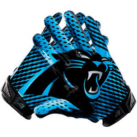 Carolina Panthers Nike Team Authentic Series Vapor Jet 2.0 Gloves