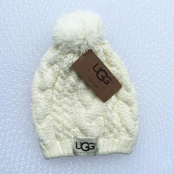 UGG Woman Men Fashion Winter Knit Hat Cap