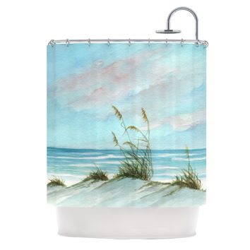 "Rosie Brown ""Sea Oats"" Shower Curtain"