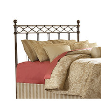 Fashion Bed Group B12284 Argyle Copper Chrome Full Headboard Only