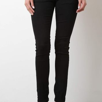 Low Rise Denim Jeans