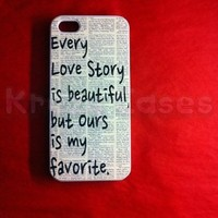 iPhone 5c case, iPhone 5c Case, Every love story is beautiful iPhone 5c Cover, iPhone 5c Cases, iPhone 5c Case, Cute iPhone 5c Case