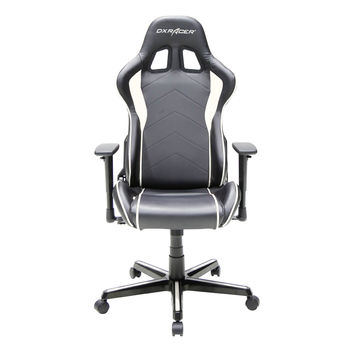 DXRACER FH08NW rocker gamingchair automotive seat computer chair-Black and White