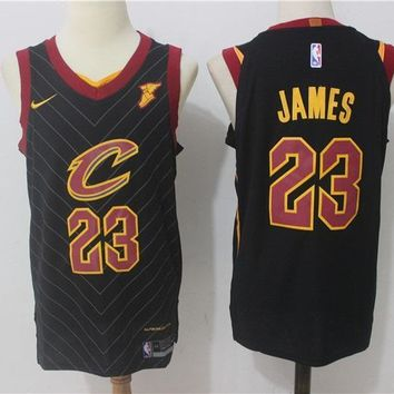 Basketball Jerseys Cleveland Cavaliers # 23 LeBron James Black