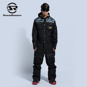 winter New design snow ski suit men
