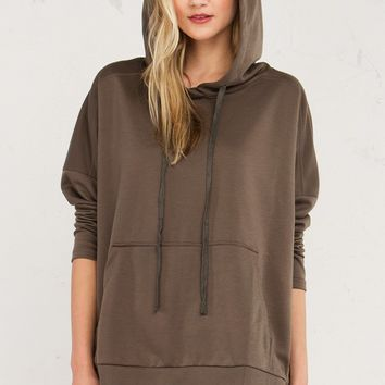 OVERSIZE PULLOVER HOODIE - What's New