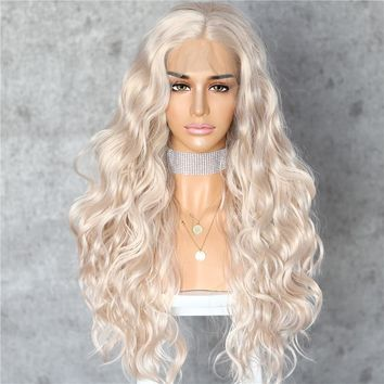Ariana- Wavy Front Lace Synthetic High Grade Wig
