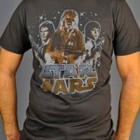 Star Wars Trio T Shirt Sheer