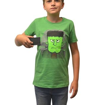 Morphsuits Moving Eyes Frankie Frankenstein T-Shirt, Large (Age 10 - 11), One...