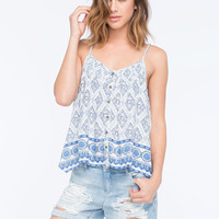 O'neill Billie Womens Cami White  In Sizes