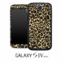 Leopard Animal Print Skin for the Samsung Galaxy S4, S3, S2, Note 1 or Note 2