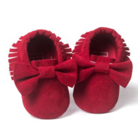 Ruby Red Moccs