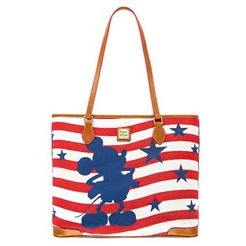 Disney Dooney & Bourke Mickey Americana Tote Bag New with Tags