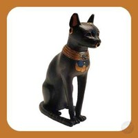"""Cat Goddess"" Bastet Statue"