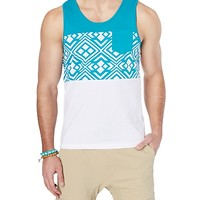 Blue Geo Pocket Tank
