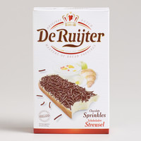 DE RUIJTER DARK CHOCOLATE SPRINKLES