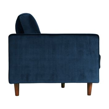Velvet Sofa In Blue