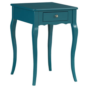 Jenna Nightstand, Teal, Nightstands